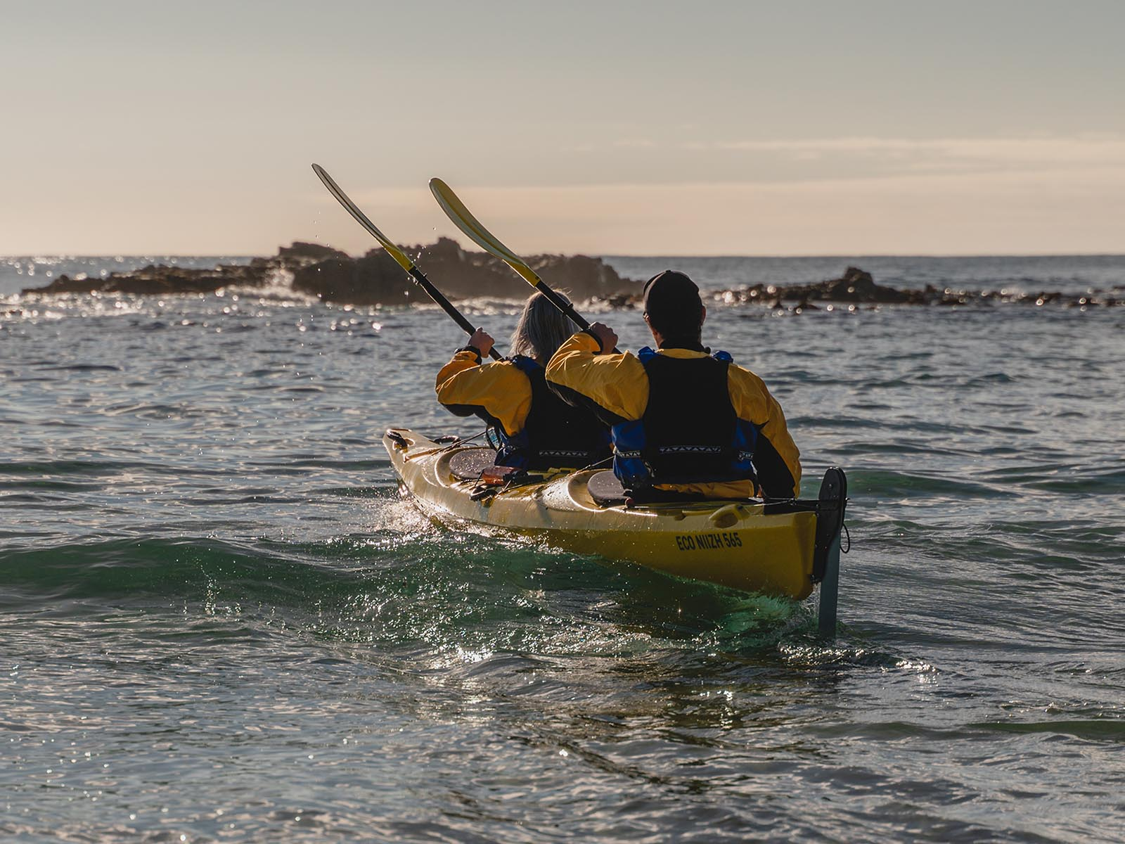 Custom kayak tours The Catlins